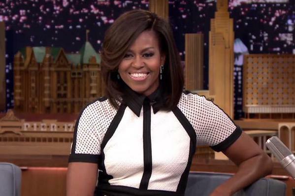 Michelle Obama nipple