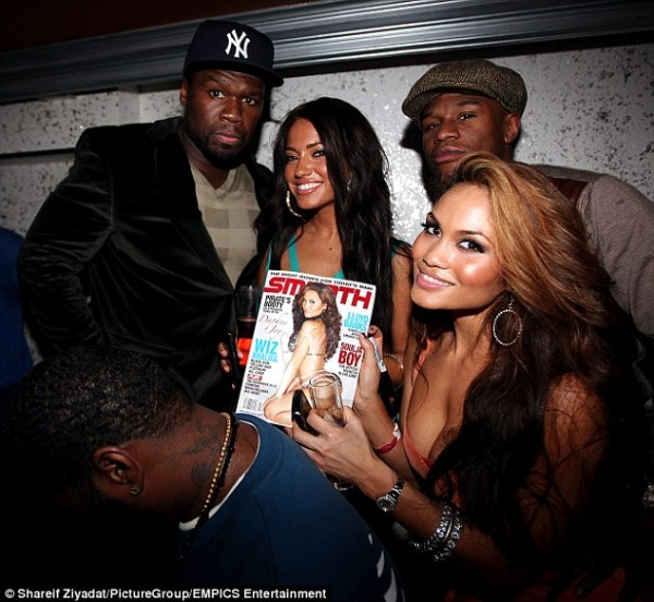 Who was 50 cent baby mother dating