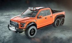 Introducing Hennessey's Road Raging 600-hp, Six-wheeled Raptor