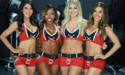 Check Out Stunning Pics Of The Atlanta Falcons Cheerleaders From Their Calendar Photo Shoot