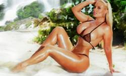 Model Coco Austin Unveils Sexy Lingerie Line