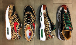 "The Atmos Nike Air Max 1 & Air Max 95 ""Animal Pack"" Make A Surprise Returning In 2018"