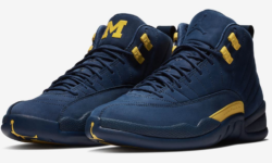 "Sneak Peak | Images Leak Of The Air Jordan 12 ""Michigan"""