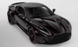 Aston Martin Develops A Blacked-Out Tag Heuer Edition Supercar