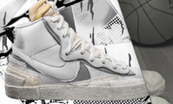 Sneak Peek | Sacai Reveals Release Updates For Upcoming Nike Blazers Collab